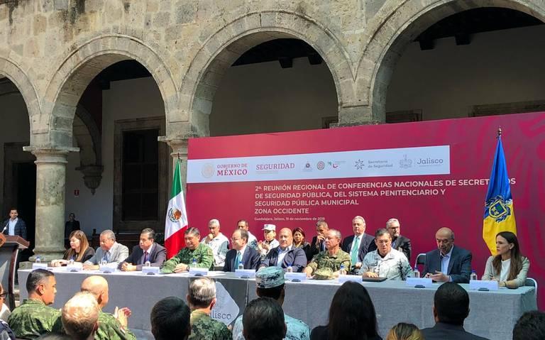 Respalda Gobierno Federal baja de delitos en Jalisco