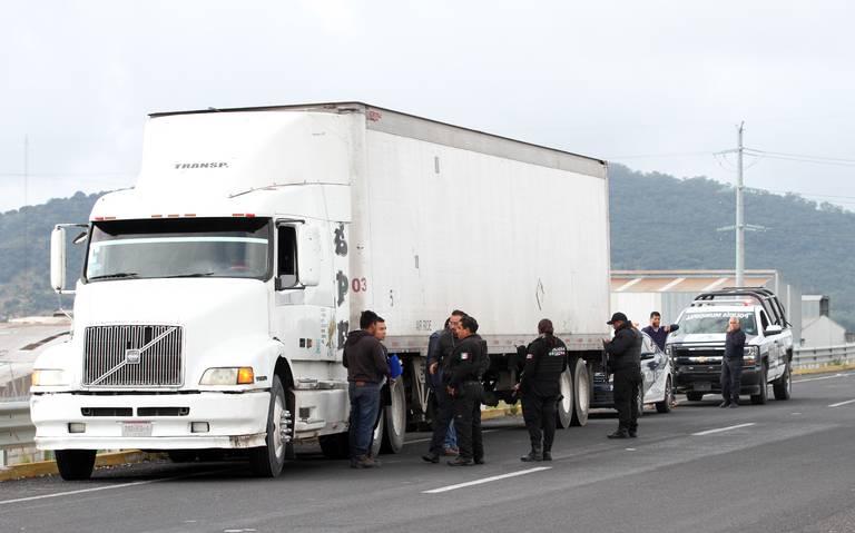 Puebla, segundo lugar nacional en robo a transportistas