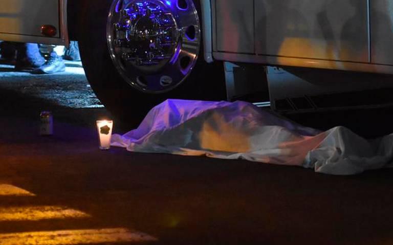 Muere hombre arrollado por camión de turismo en la GAM