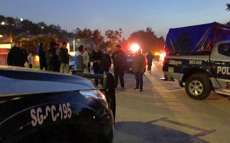 Balacera entre policías y ladrones en Ecatepec deja dos heridos y tres detenidos