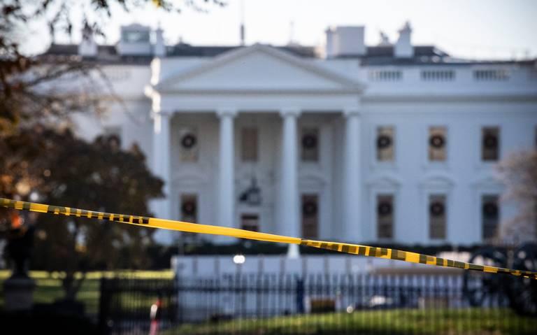 Cierran temporalmente la Casa Blanca y el Capitolio por alerta de seguridad