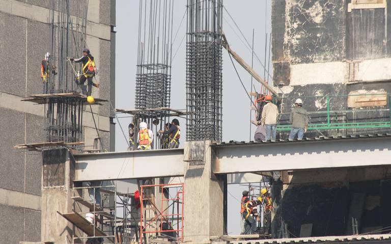 Gasto en construcción tiene séptima caída consecutiva a tasa anual