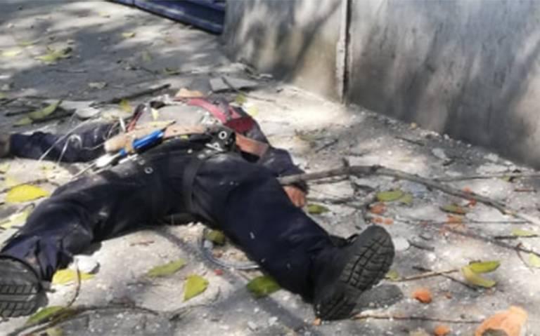 Muere al caer de varios metros mientras realizaba reparación