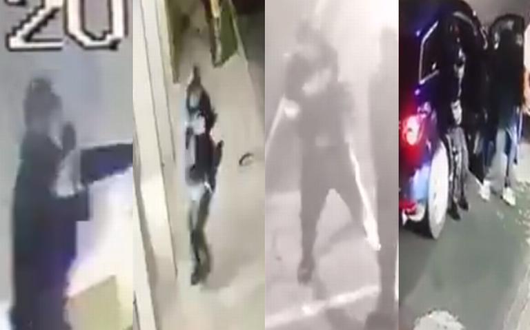 Señalan en redes sociales, relación entre videos de delincuentes en Lindavista