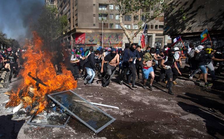 Chile se aleja cada vez más de la pacificación