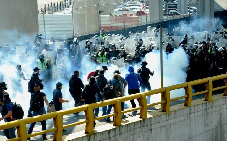Estrenan protocolo de atención a bloqueos con policías heridos