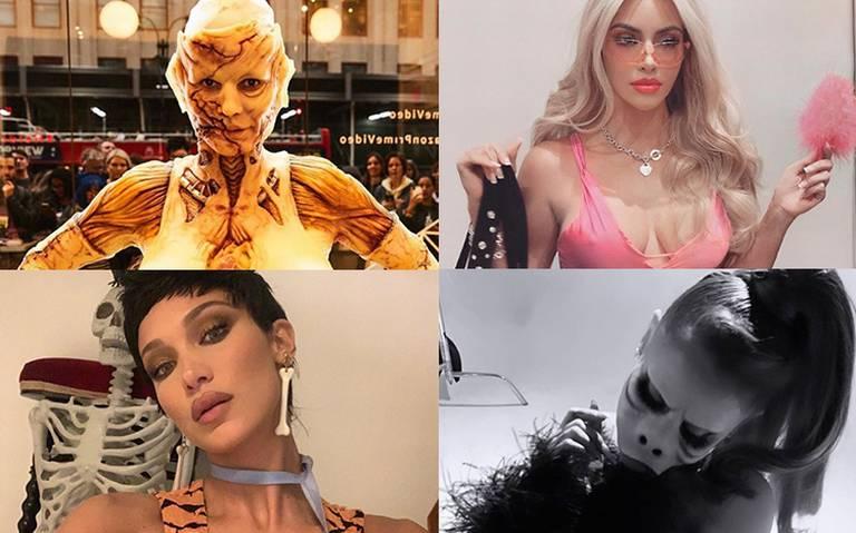 ¡Pesadilla en Hollywood! Aquí los mejores disfraces de famosos en Halloween