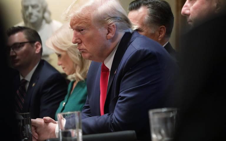 """""""¡Esta gente está enferma!"""", Trump descarga su ira ante posible juicio político"""