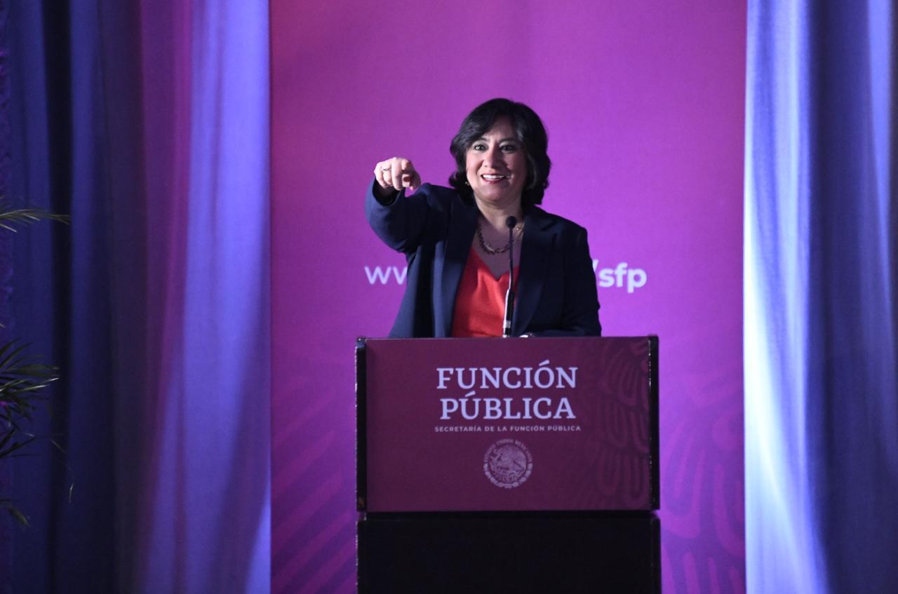 Inaugura secretaria Irma Eréndira Sandoval inédito Encuentro Nacional de Órganos Internos de Control del Gobierno Federal