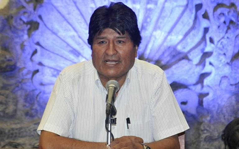 Evo Morales acusa a la OEA de tomar postura política en elección de Bolivia