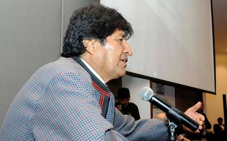 Difunden supuesto audio de Evo Morales ordenando el bloqueo de alimentos