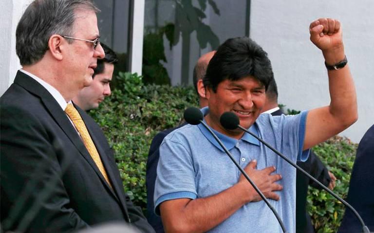 Además de Evo Morales, ellos recibieron asilo político en México