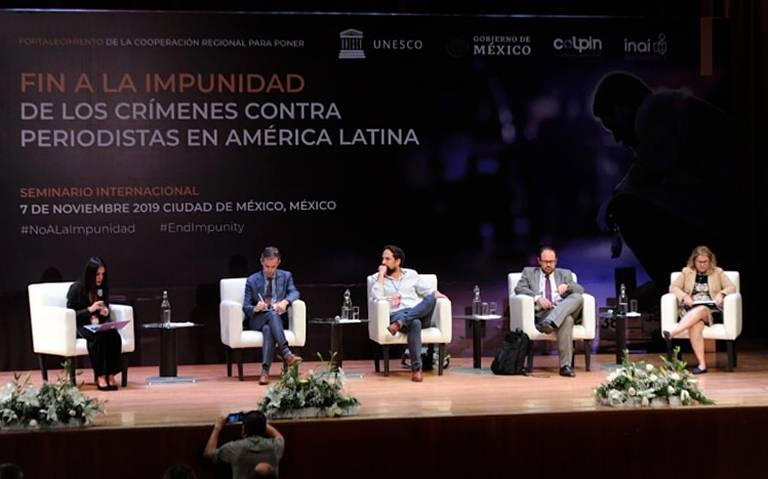 ONU urge a México implementar medidas para combatir crímenes contra periodistas