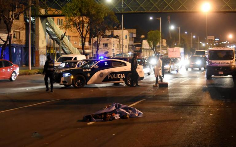Pierde la vida tras ser atropellado en Calzada Ignacio Zaragoza