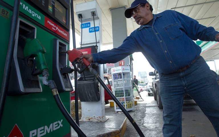 Hacienda disminuye estímulo fiscal a gasolina Magna y al diésel