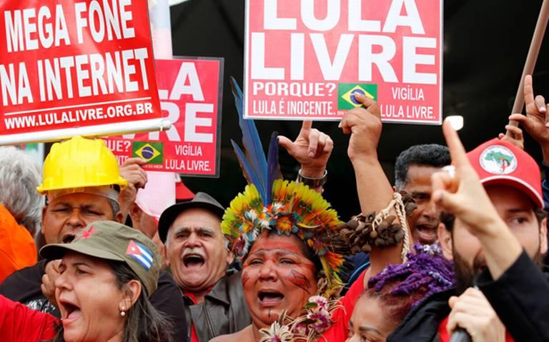 La Justicia decreta la libertad de Lula tras el fallo del Tribunal Supremo