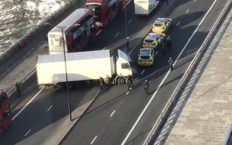 Abaten a sospechoso de apuñalar a personas en London Bridge