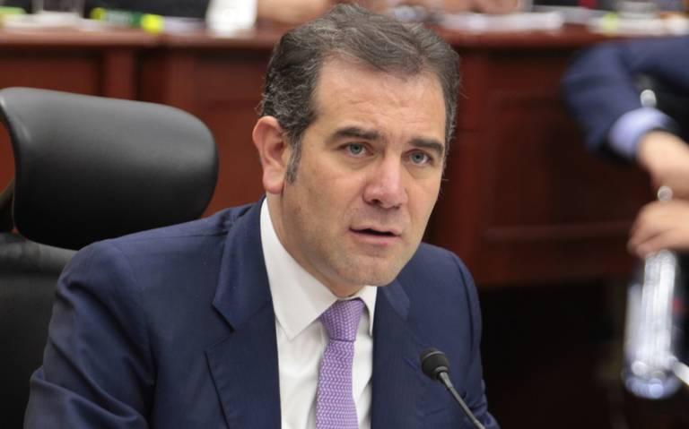 INE acude a San Lázaro a defender su presupuesto
