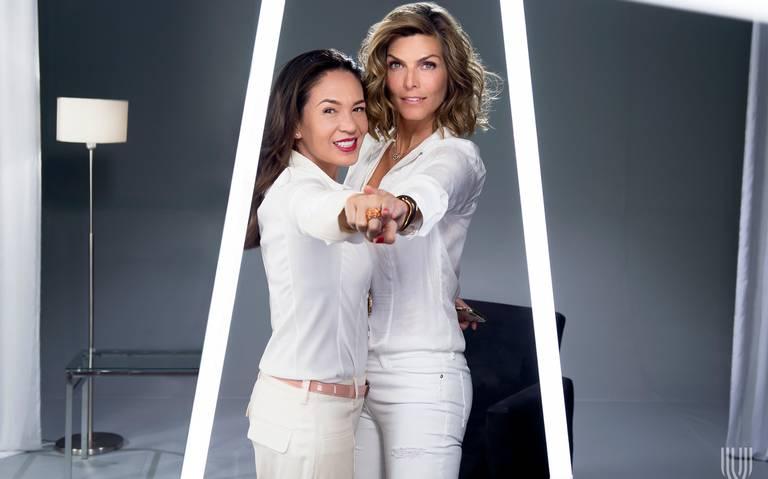 Montserrat Oliver y Yolanda Andrade festejan 19 años de estar en la TV