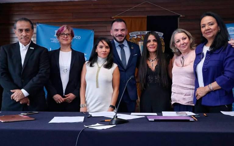 Pacta OEM con UNESCO compromiso por la paridad de género