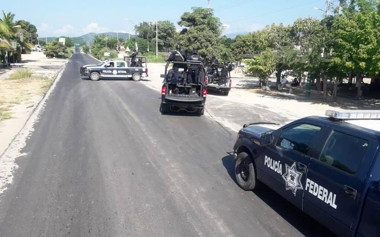 Refuerzan seguridad en Petatlán, Guerrero, ante amenazas de más bloqueos