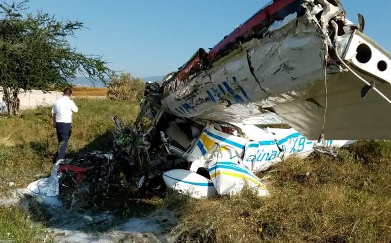 Se desploma avioneta en Temixco, Morelos; hay dos muertos