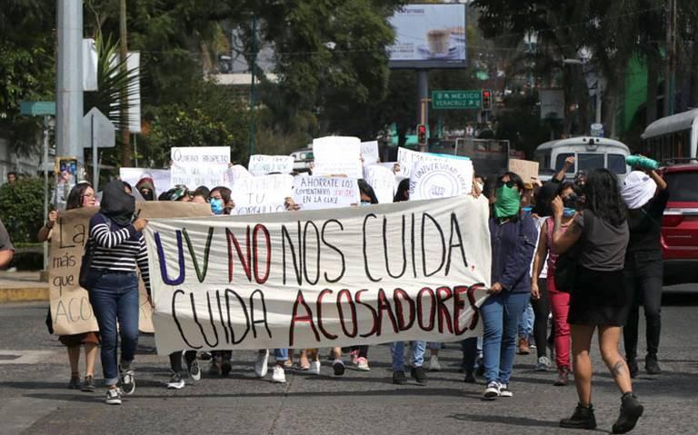 Exigen alumnas de la Universidad Veracruzana un alto al acoso sexual