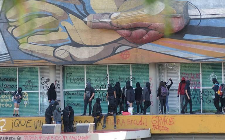 UNAM presenta dos denuncias por hechos violentos en Rectoría