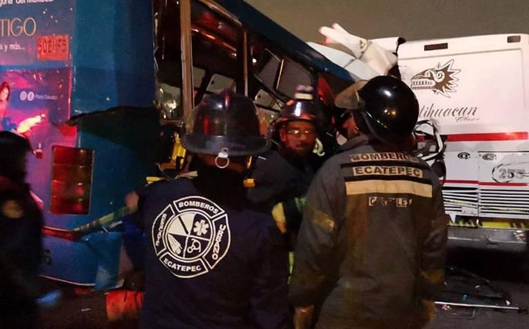 Aumenta a 12 el número de muertos por accidente en la México-Pachuca