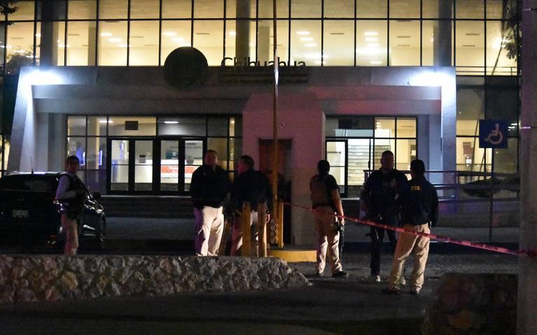 Comando ataca en Ciudad Juárez a elementos de la fiscalía de Chihuahua