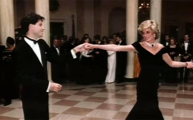 Subastarán vestido que usó la princesa Diana en su baile con John Travolta