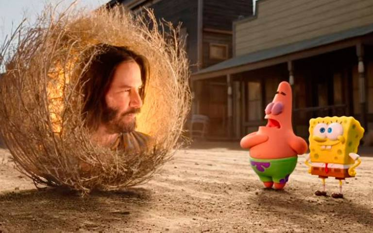 ¿Están listos? Regresa Bob Esponja al cine y ¡con Keanu Reeves!