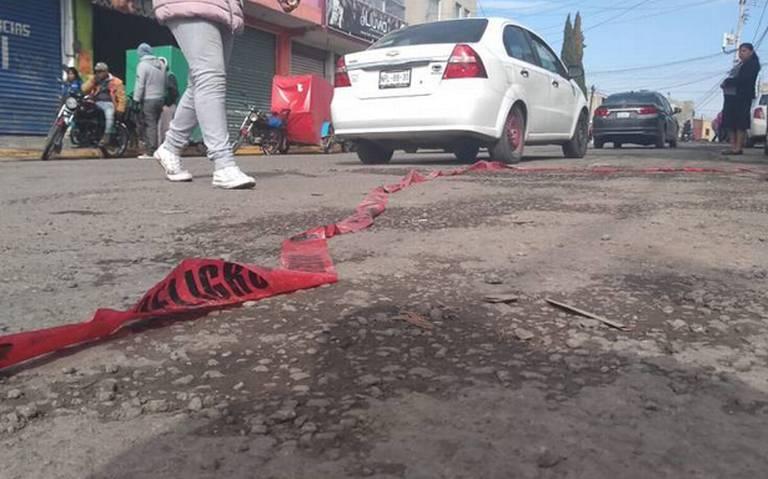 Abandonan dos cabezas humanas en Toluca, Estado de México