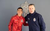Oficial: Uriel Antuna ya fue presentado con Chivas