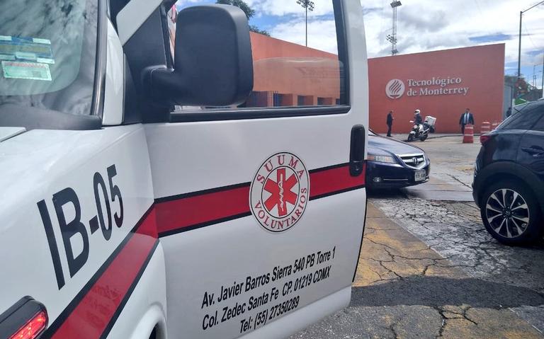Reportan disparos en Tec de Monterrey campus Santa Fe