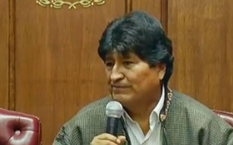 No soy ni seré candidato a la presidencia; EU no quiere que vuelva: Evo Morales