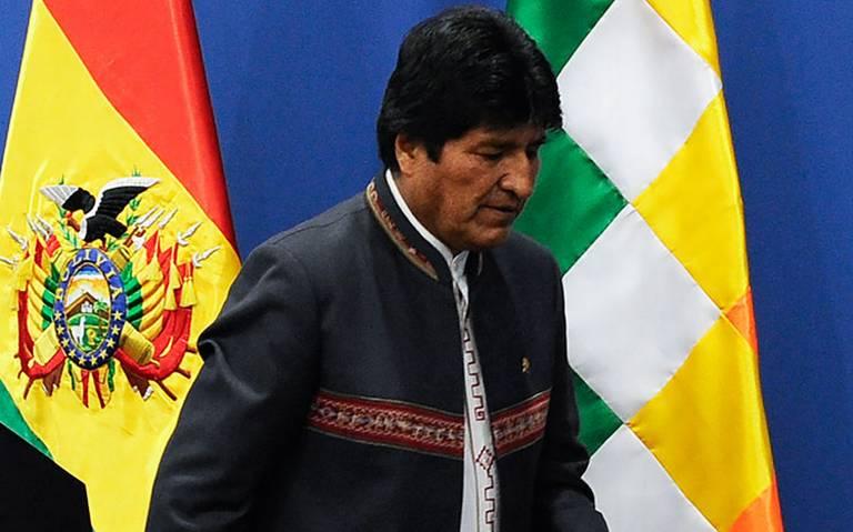 Aterriza de emergencia helicóptero donde viajaba Evo Morales
