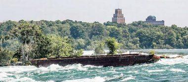 Barco perdido de más de 100 años ¡reaparece en las Cataratas del Niágara!