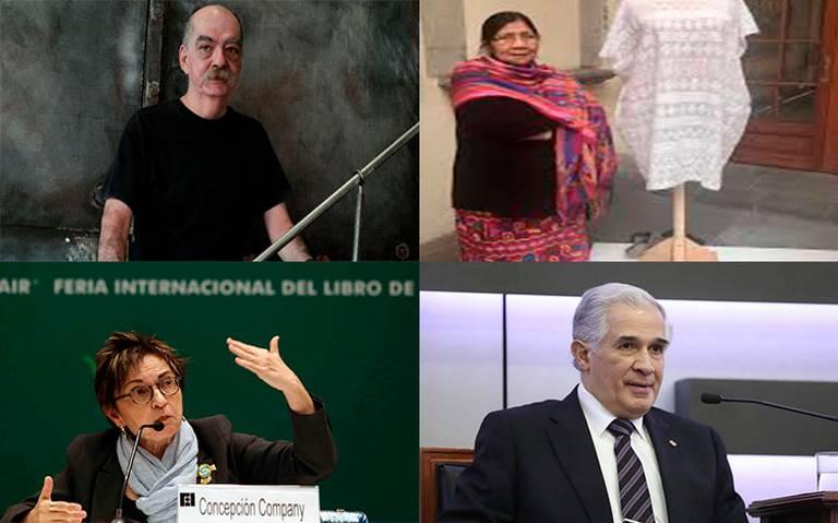 Ellos son los ganadores del Premio Nacional de Artes y Literatura 2019