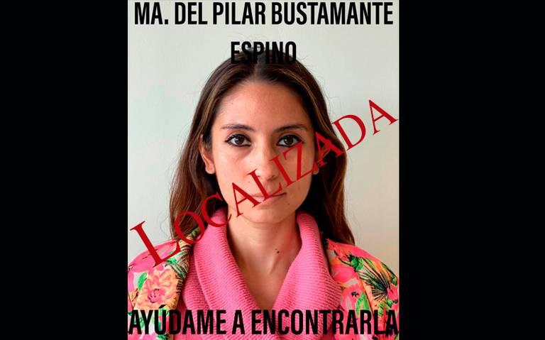 Aparece la cantante María del Pilar, luego de tres días de estar desaparecida