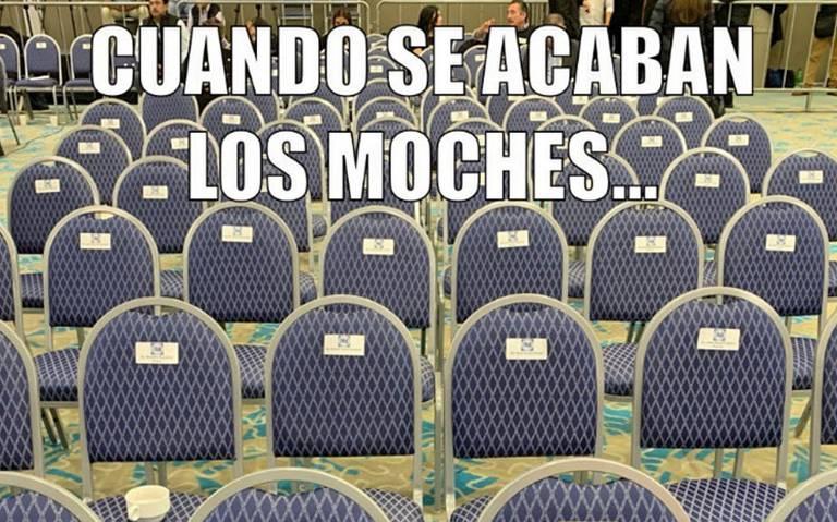 ¡Sin moches pero con memes! PAN no sesiona por PEF y Morena se burla