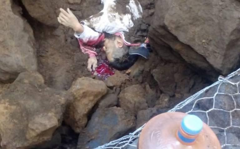 Derrumbe en construcción en el Ajusco deja un muerto