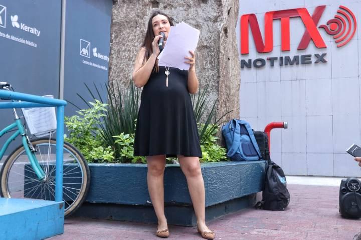 Trabajadora de Notimex acudirá CIDH por despido injustificado