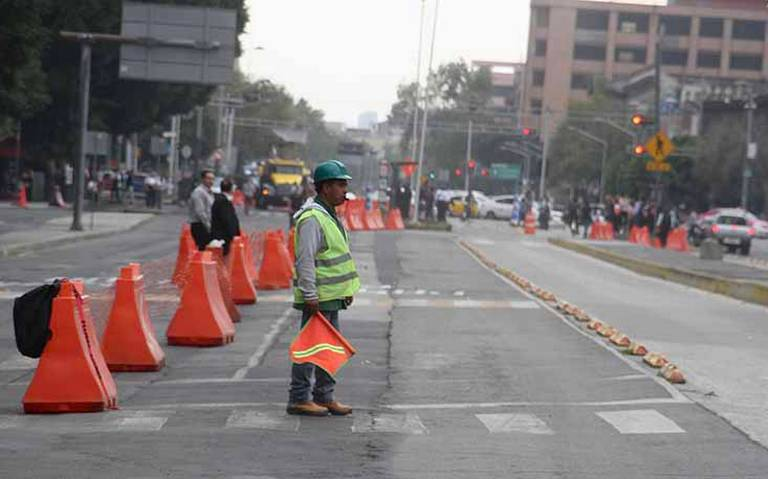En obras de Av. Hidalgo, roban retroexcavadora con valor de 2 mdp