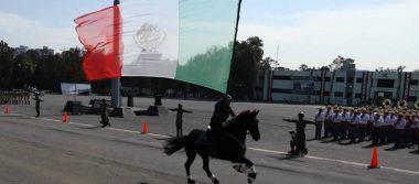 Tropas se alistan para el desfile revolucionario del 20 de noviembre