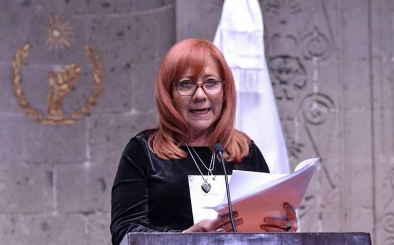 """""""Mi elección fue legal"""", Rosario Piedra presenta plan de austeridad para la CNDH"""