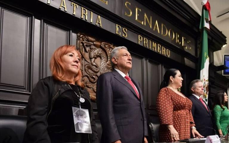 Acto de justicia, la elección de Rosario Piedra como titular de la CNDH: AMLO