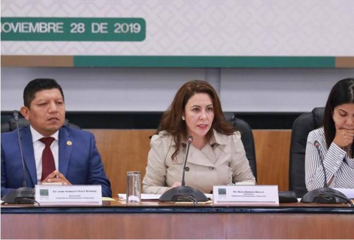 Aprueban diputados juicio político contra Rosario Robles