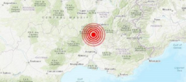 Sismo en sureste de Francia deja cuatro heridos, uno de ellos grave