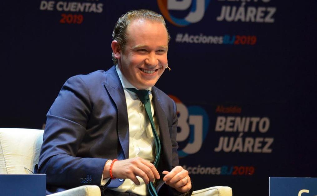 Primer Informe del Alcalde de Benito Juárez, Santiago Taboada